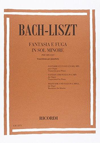 9780041823714: FANTASIE E FUGHE PER ORGANO: BWV 542 IN SOL MIN.