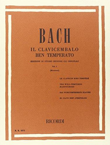 9780041823752: IL CLAVICEMBALO BEN TEMPERATO VOLUME I