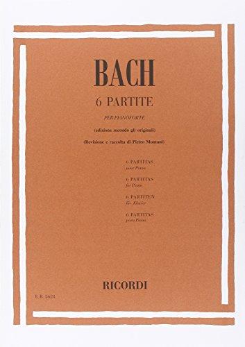 9780041826289: 6 PARTITE BWV 825 - 830