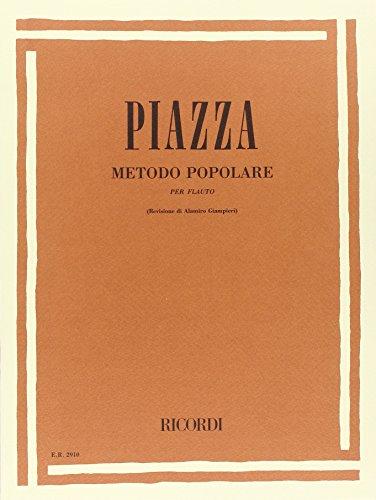 9780041829105: Metodo Popolare Per Flauto Flûte Traversiere