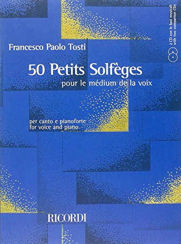 9780041829419: 50 PETITS SOLFEGES VOICE AND PIANO BK W/2CD