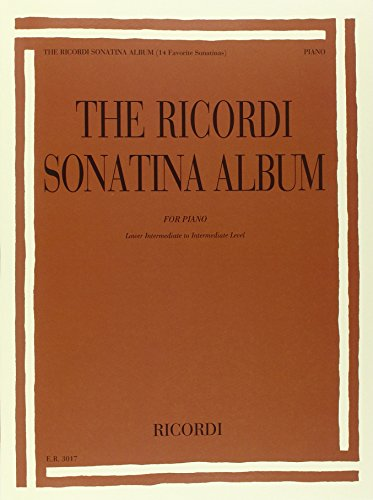 9780041830170: The Ricordi Sonatina Album Piano