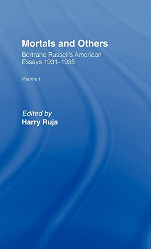 9780041900071: Mortals & Others            V1: American Essays, 1931-35