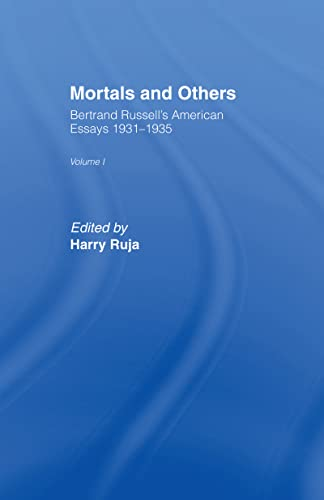 9780041900071: Mortals and Others, Volume 1 : American Essays, 1931-1935