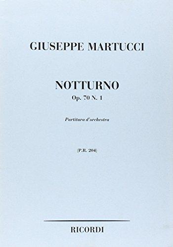 9780041902044: Partitions classique RICORDI MARTUCCI G. - NOTTURNO OP.70 N.1 - CONDUCTEUR Grand format