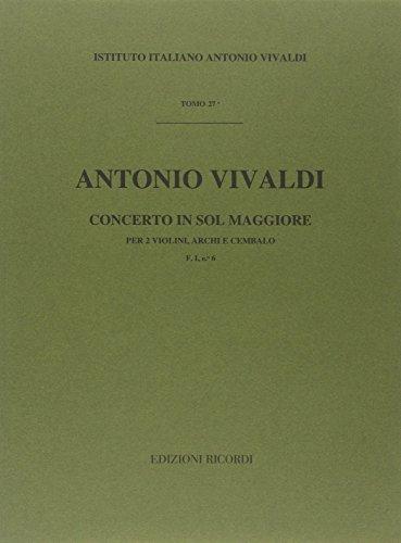 9780041902761: Concerto In Sol Maggiore RV 516 (F I, 6 - T 27)