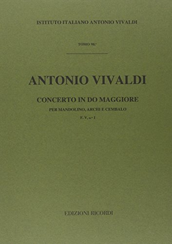 9780041904604: CONCERTI PER MANDOLINO, ARCHI E B.C.: IN DO RV 425