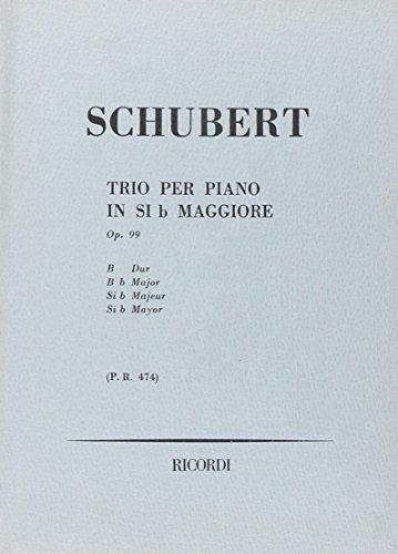 9780041904741: Trio Per Piano In Si b Maggiore (B flat Major)
