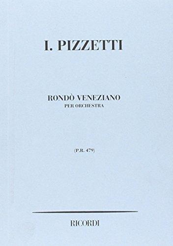 9780041904796: Rondo' Veneziano - Orchestra - SCORE