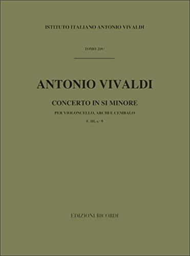 9780041907698: Concerto In Si Min. RV 424
