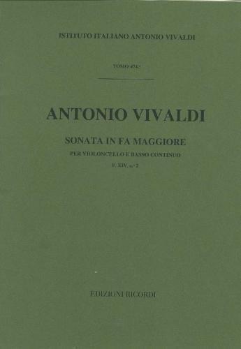 9780041911497: Vivaldi: Sonata FXIV/2 (RV41) in F major (Cello & Piano)