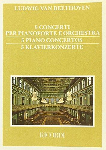 9780041912395: 5 Concerti Per Pianoforte E Orchestra [5]