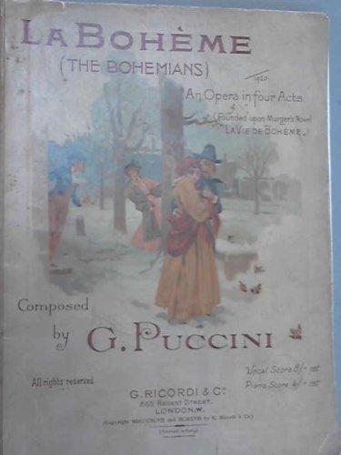 9780041913514: La Boheme (Ricordi Opera Full Score)