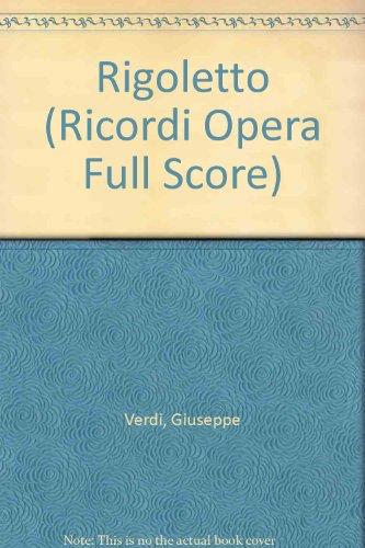 9780041913545: Rigoletto (Ricordi Opera Full Score)