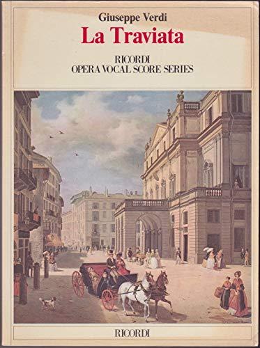 9780041913552: La Traviata (Ricordi Opera Vocal Score) (Ricordi Opera Full Score)