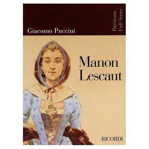 9780041913644: Partitions classique RICORDI PUCCINI G. - MANON LESCAUT - CONDUCTEUR Grand format