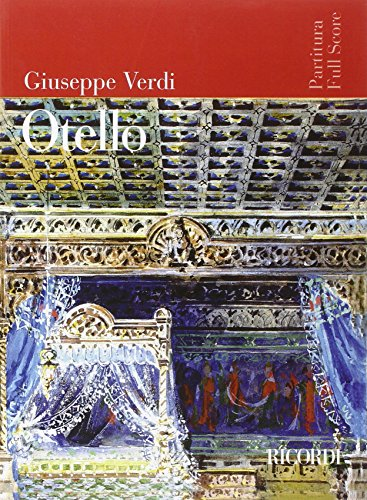 9780041913705: RICORDI VERDI G. - OTELLO - CONDUCTEUR Classical sheets Full score