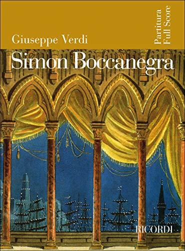 9780041913750: Partitions classique RICORDI VERDI G. - SIMON BOCCANEGRA - FULL SCORE Grand format