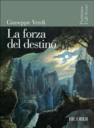 9780041913873: Partitions classique RICORDI VERDI G. - LA FORZA DEL DESTINO - CONDUCTEUR Grand format