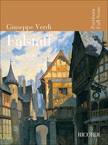 9780041913880: RICORDI VERDI G. - FALSTAFF - CONDUCTEUR Classical sheets Full score