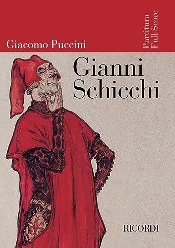 9780041913927: Partition classique RICORDI PUCCINI G. - GIANNI SCHICCHI - CONDUCTEUR Grand format