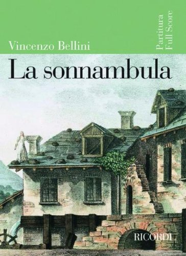 9780041913941: Partitions classique RICORDI BELLINI V. - LA SONNAMBULA - CONDUCTEUR Grand format
