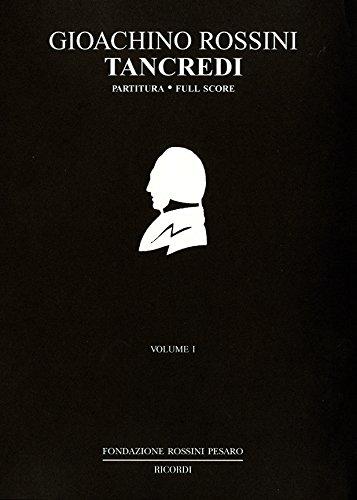 9780041913972: RICORDI ROSSINI G. - TANCREDI - CONDUCTEUR Classical sheets Full score
