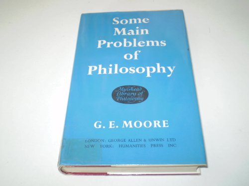 9780041920093: Some Main Problems of Philosophy (Muirhead Library of Philosophy)