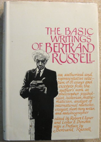 9780041920130: Basic Writings of Bertrand Russell