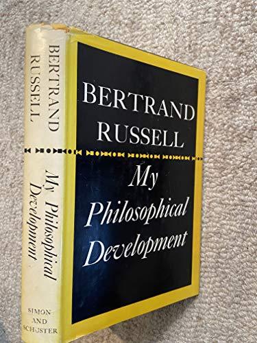 9780041920154: My Philosophical Development