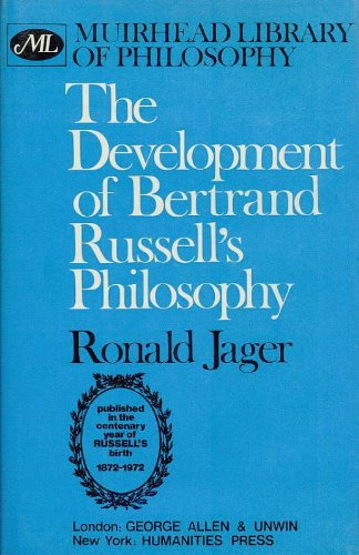 9780041920284: Development of Bertrand Russell's Philosophy (Muirhead Library of Philosophy)