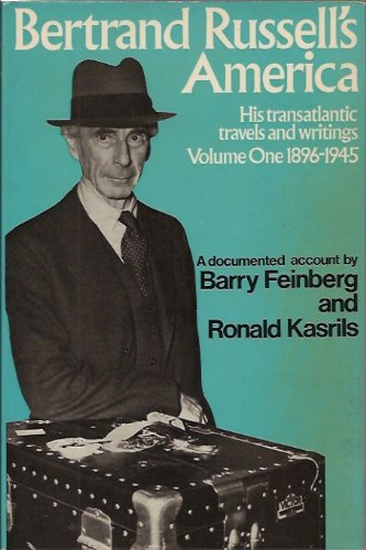 9780041920291: Bertrand Russell's America: 1896-1945 v. 1: His Transatlantic Travels and Writings