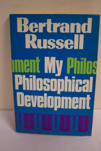 9780041920307: My Philosophical Development