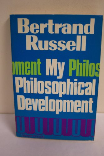 9780041920307: My Philosophical Development