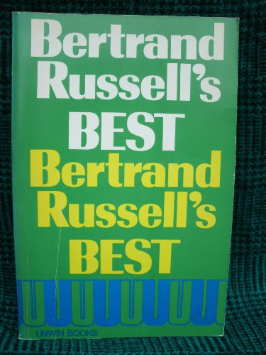 9780041920314: Bertrand Russell's Best