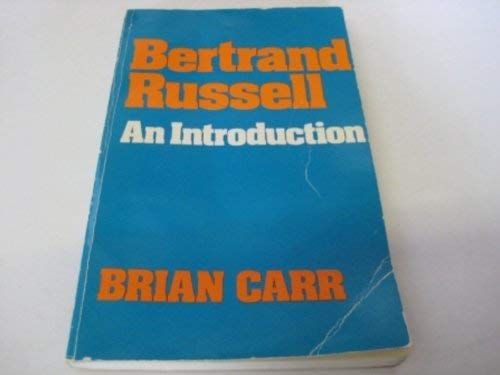 9780041920338: Bertrand Russell: An Introduction