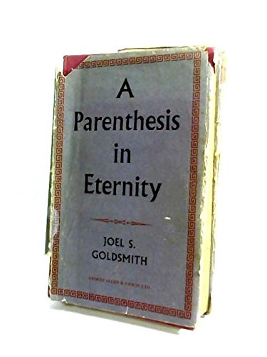 9780042400044: Parenthesis in Eternity