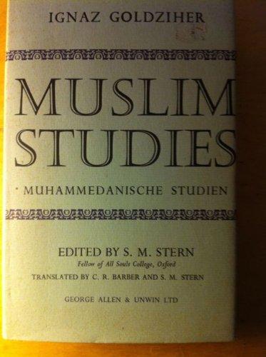 9780042900094: Muslim Studies: v. 2