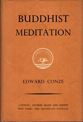 9780042940083: Buddhist Meditation (Ethical & Religious Classics of E.& W.)