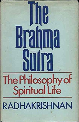 9780042940434: Brahma Sutra: The Philosophy of Spritual Life