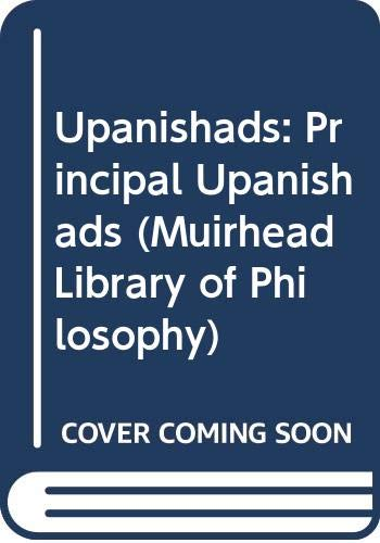 9780042940472: Upanishads: Principal Upanishads (Muirhead Library of Philosophy)