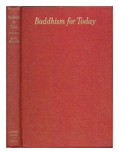 9780042940533: Buddhism for Today