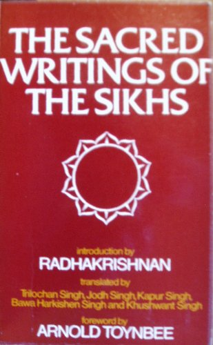 9780042940816: Sacred Writings of the Sikhs (Unesco Collection of Representative Works)