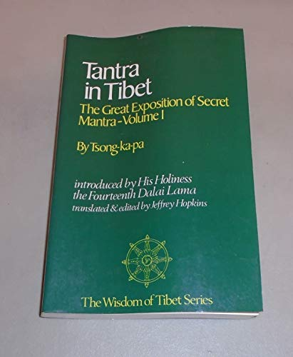 9780042940991: Tantra in Tibet: Great Exposition of Secret Mantra (The Wisdom of Tibet Series #3)