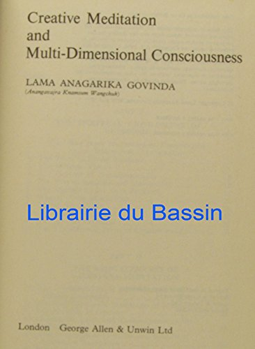 9780042941011: Creative Meditation and Multi-Dimensional Consciousness