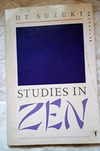 9780042941349: Studies in Zen