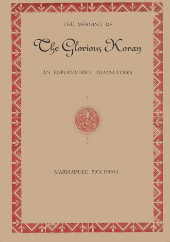 9780042970141: Meaning of the Glorious Koran