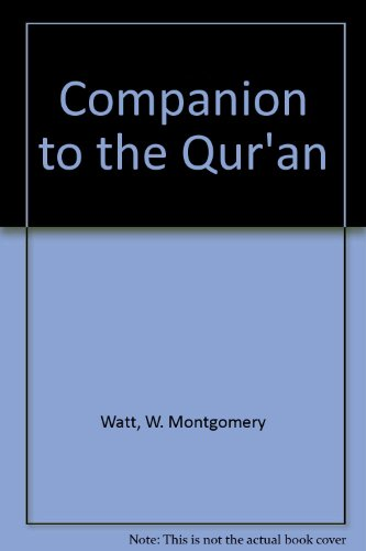 9780042970196: Companion to the Qur'an