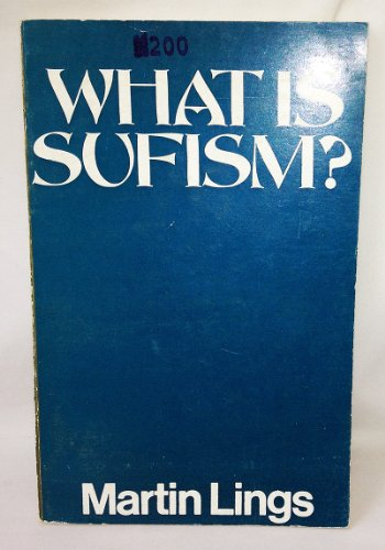 9780042970325: What is Sufism?
