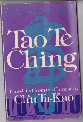 9780042990071: Tao Te Ching